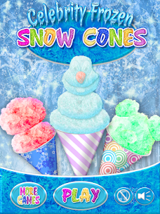 Celebrity Frozen Snow Cone
