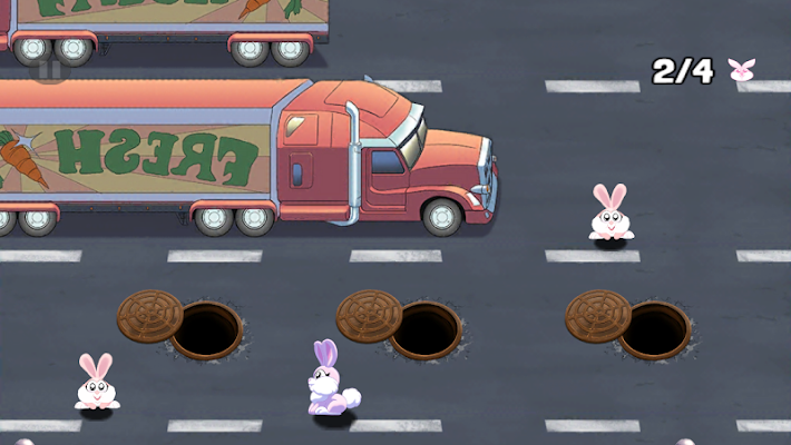 Rescue Rabbit Rush - screenshot