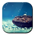 Galaxy S4 Rain n Coffee Grain logo