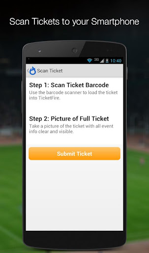 TicketFire Ticket Code Scanner