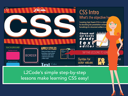 L2Code CSS – Learn to Code!- screenshot thumbnail