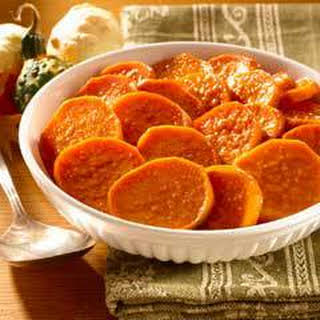 Honey-glazed Sweet Potato Bake.