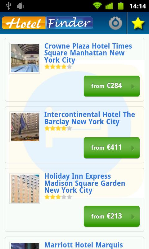 Hotel Finder - Book Hotels- screenshot