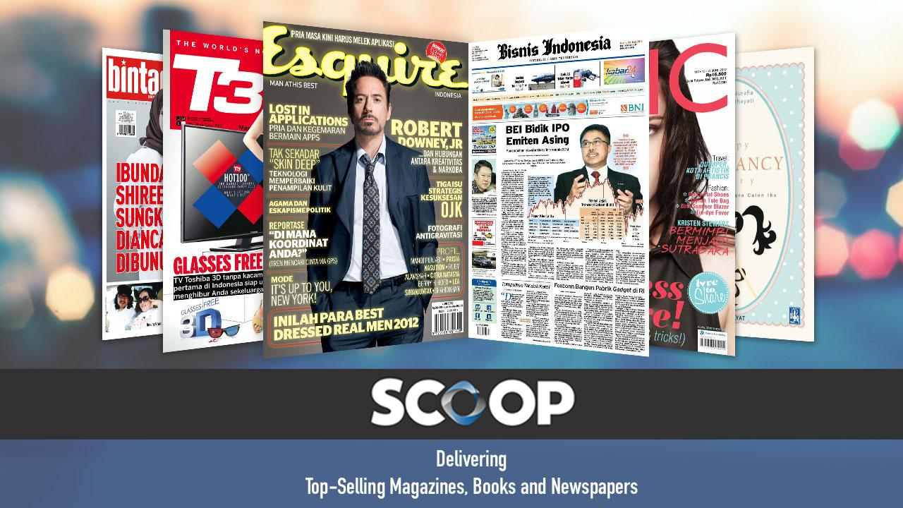 SCOOP Newsstand - screenshot