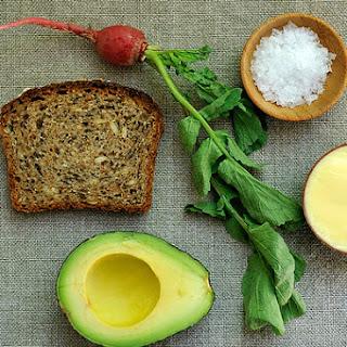 Tartine with Mustard Mayo and Mashed Avocado Recipe