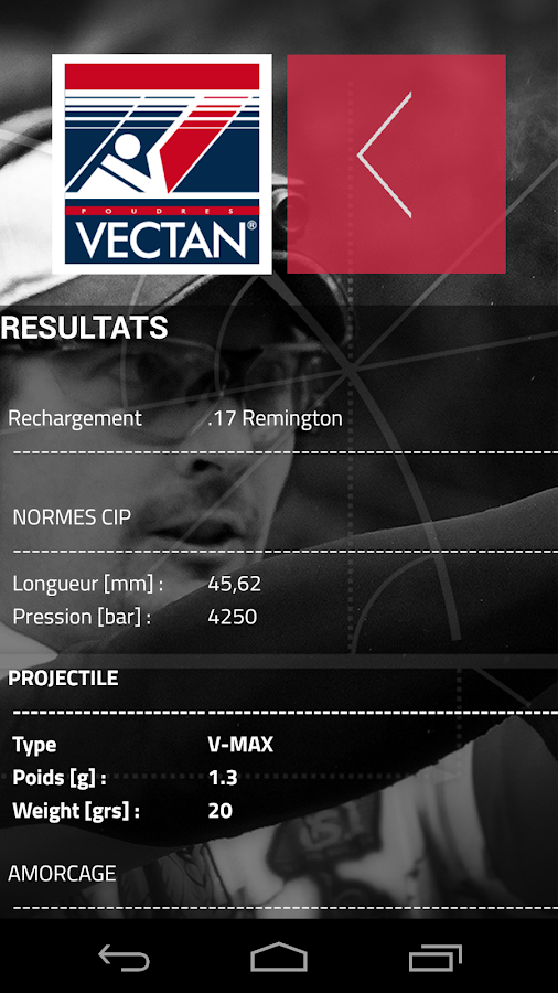 Vectan – Capture d'écran