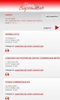 Screenshot of Trova Supermercati