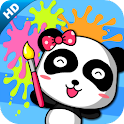 Panda painting 2(kids) logo