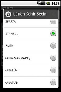 İmsakiye screenshot 2