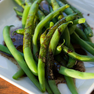 Green Beans with Balsamic Browned Butter.