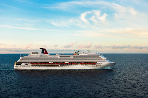 Carnival-Dream-aerial - Carnival Dream's Caribbean cruises include stops in Belize, Jamaica and the Bahamas.