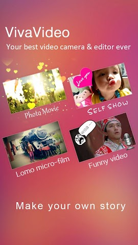 android VivaVideo Pro:édition de vidéo Screenshot 1