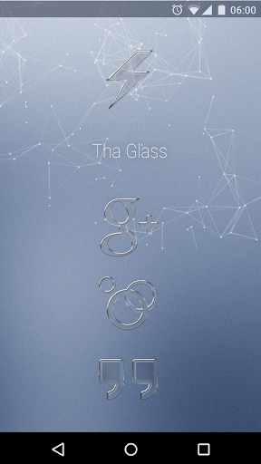 Tha Glass - Icon Pack