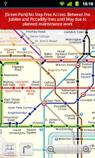 London tube (Metro 24)- screenshot thumbnail