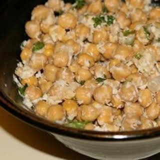 Chickpea Coconut Salad.