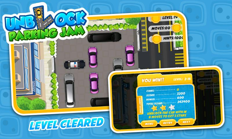 Unblock Parking Jam - Free- screenshot
