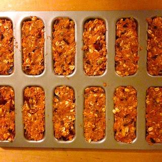 PACKED Carrot Cake Spice Bars with Maple Cinnamon Yogurt Dip