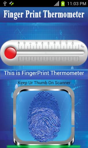 フィンガープリント温度計