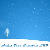 Artistic Tree Snowfall LWP
