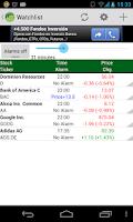 Screenshot of Stocks Portfolio