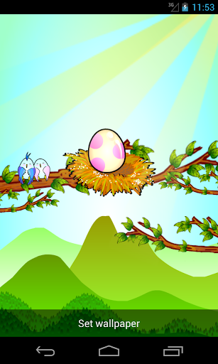 Cute Egg Wallpaper