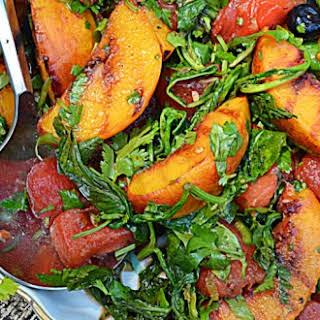 ~cast Iron Skillet Grilled Fruit Salad~.