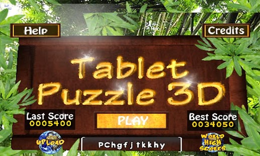 Tablet Puzzle 3D- screenshot thumbnail