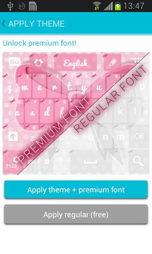 玩個人化App|粉色蝴蝶結鍵盤免費|APP試玩
