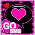 Pink Diamond Theme for GOSMS icon