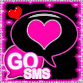 Pink Diamond Theme for GOSMS