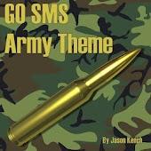 GO SMS Pro British Army Theme