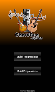 ChordGen - Chord Progression- screenshot thumbnail