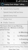 Screenshot of AnalogClock Widget TalkingLite