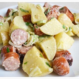 Potato and Polish Sausage Salad.