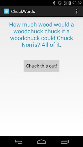 Chuck Words