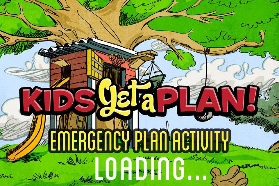 KGAP - Emergency Plan Activity- screenshot