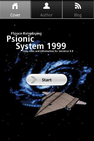 FSpaceRPG Psionics 1999
