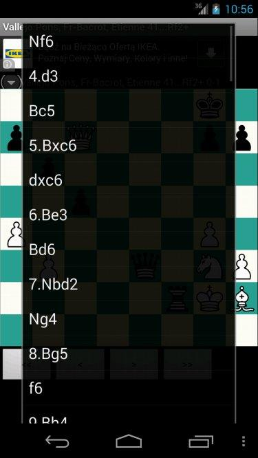 Free Chess PGN Browser- screenshot