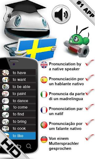 学习瑞典语动词 HD LearnBots