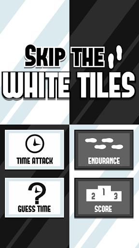 Skip the white tiles