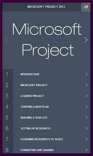 Learn Project 2013 Tutorial