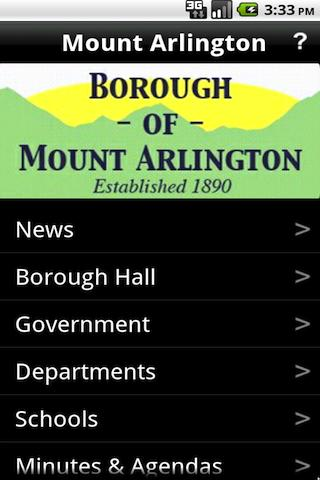 Borough of Mount Arlington