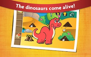 Screenshot of Kids Dinosaur Game Free