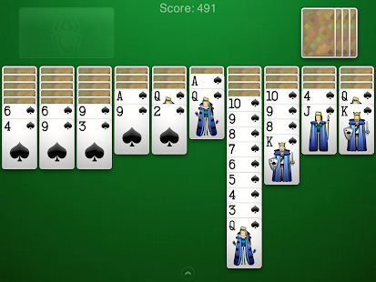 Spider Solitaire - screenshot thumbnail