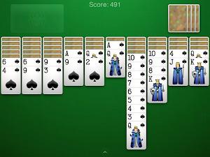 7 Spider Solitaire App screenshot