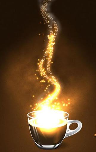 香醇咖啡-超炫酷動態桌布IOS8三星HTC