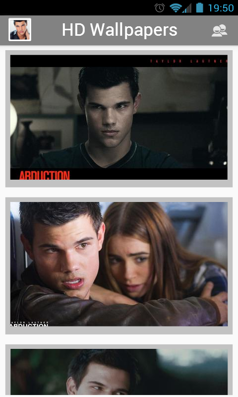 Taylor Lautner HD Wallpapers - screenshot