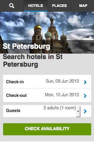 St Petersburg Hotels Booking