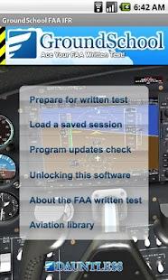 FAA IFR Instrument Rating Prep - screenshot thumbnail