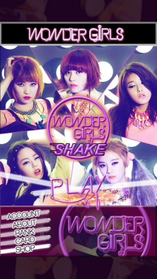 Wonder Girls SHAKE - screenshot